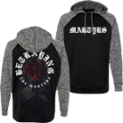 Betraying The Martyrs - Martyrs & Roses (Black/Heather Grey) (Hoodie) [入荷予約商品]