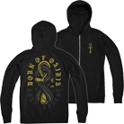 Born Of Osiris - Snaked (Zip Up Hoodie) [入荷予約商品]
