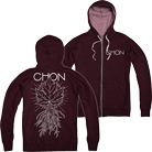 Chon - Roots (Heather Red) (Zip Up Hoodie) [入荷予約商品]