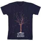 The Early November - Snowy Tree (Navy) [入荷予約商品]