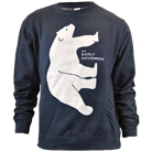 The Early November - Bear (Heather Navy) (Sweat) [入荷予約商品]