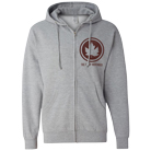 The Early November - Leaf (Heather Grey) (Zip Up Hoodie) [入荷予約商品]