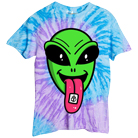 Stay Sick Clothing - Alien Trip (Lavender/Blue Spiral) [入荷予約商品]