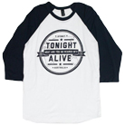 Tonight Alive - What Are You So Scared Of (White/Navy) (Baseball) [入荷予約商品]