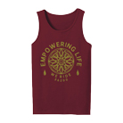 We Ride - Empowering Life Flower (Maroon) [入荷予約商品]
