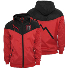 As It Is - Bolt (Red/Black) (Custom Windbreaker) [入荷予約商品]