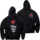 August Burns Red - Rose (Zip Up Hoodie) [入荷予約商品]