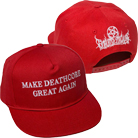 Thy Art Is Murder - Make Deathcore Great Again (Red) (Snapback) [入荷予約商品]