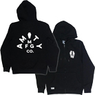 The Amity Affliction - Split Casket (Zip Up Hoodie) [入荷予約商品]