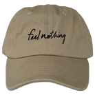The Plot In You - Feel Nothing (Khaki) (Dad Hat) [入荷予約商品]