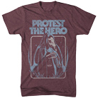 Protest The Hero - Justice (Maroon Triblend) [入荷予約商品]