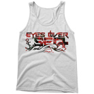 Eyes Over Sea - Flower Printed Logo (Tank Top) [入荷予約商品]