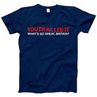 Youth Killed It - What's So Great, Britain? Logo (Navy) [入荷予約商品]