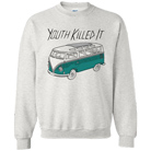 Youth Killed It - Bus (White) (Sweat) [入荷予約商品]