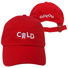 Gideon - Cold (Red) (Dad Hat) [入荷予約商品]