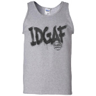 Breathe Carolina - IDGAF (Heather Grey) (Tank Top) [入荷予約商品]