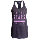 I See Stars - Stack (Heather Charcoal) (Racerback Tank Top) [girl's] [入荷予約商品]