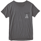 Issues - Logo (Grey) (Raw-Cut Pocket) [入荷予約商品]