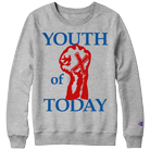 Youth Of Today - Fist (Athletic Grey) (Sweat) [入荷予約商品]