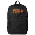 Neck Deep - Globe Logo (Embroidered) (Backpack) [入荷予約商品]