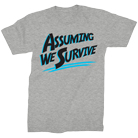 Assuming We Survive - Logo (Heather Grey) [入荷予約商品]