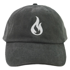 Like Moths To Flames - Flame (Charcoal) (Dad Hat) [入荷予約商品]