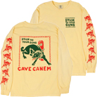 Stick To Your Guns - Cave Canem (Cream) (Long Sleeve) [入荷予約商品]