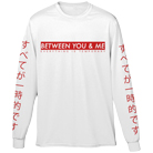 Between You And Me - Everything Is Temporary (Long Sleeve) [入荷予約商品]