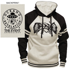 Oceano - The Event (Black/Oatmeal) (Raglan Hoodie) [入荷予約商品]