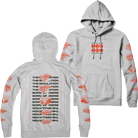 Born Of Osiris - Analogs (Heather Grey) (Hoodie) [入荷予約商品]