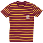 Dance Gavin Dance - Logo (Maroon/Yellow) (Custom Striped) [入荷予約商品]