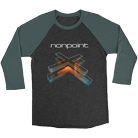 Nonpoint - X Outline (Heather Grey/Forest Green) (Baseball) [入荷予約商品]