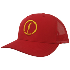 Hopesfall - Logo Colors (Yellow/Red) (Trucker Hat) [入荷予約商品]