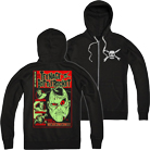 Teenage Bottlerocket - Necrocomicon (Zip Up Hoodie) [入荷予約商品]
