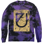 Issues - Marble Drip Logo (Purple Custom Dye) (Long Sleeve) [入荷予約商品]