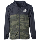 Bayside - Logo (Black/Camo) (Embroidered) (Jacket) [入荷予約商品]