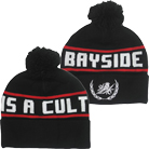 Bayside - Cult Wreath (Black/Red) (Beanie) [入荷予約商品]