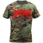 Bodysnatcher - Death Metal Logo (Camo) [入荷予約商品]