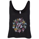 Plain White T's - Floral (Crop Top) [girl's] [入荷予約商品]