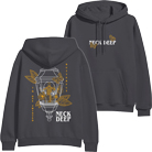Neck Deep - Twisted Butterfly (Charcoal) (Hoodie) [入荷予約商品]