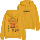 Neck Deep - Twisted Butterfly (Gold) (Hoodie) [入荷予約商品]