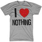 Armor For Sleep - I Heart Nothing (Heather Gray) [入荷予約商品]