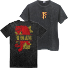 Fit For A King - Tiger (Acid Wash Black) (Limited) [入荷予約商品]