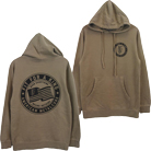 Fit For A King - Circle (Sandstone Pigment Dye) (Hoodie) [入荷予約商品]
