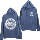 Fit For A King - Circle (Denim Pigment Dye) (Hoodie) [入荷予約商品]