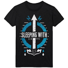 Sleeping With Sirens - Blue And White Logo [入荷予約商品]
