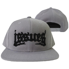 Issues - Death Metal Logo (Black On Silver) (Snapback) [入荷予約商品]