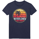 Never Loved - Palm Tree (Navy) [入荷予約商品]