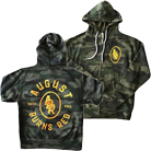 August Burns Red - Badge (Camo) (Lightweight Zip Up Hoodie) [入荷予約商品]