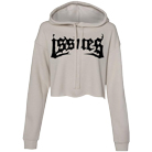 Issues - Death Metal Logo (Heather Dust) (Cropped Hoodie) [入荷予約商品]
